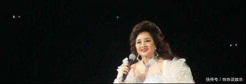 曾红过邓丽君  刘德华很尊敬她   如今晚年成这样