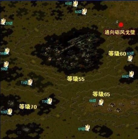 魔域在树心城的BOSS地图怎么找