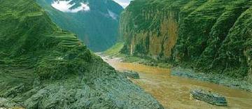 中国 青海省/长江,位于中国境内,全长6380公里,发源于中国青海省唐古拉山...
