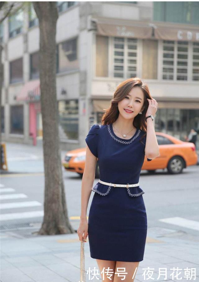 70后的女人,夏季就穿这连衣裙,气质感十足