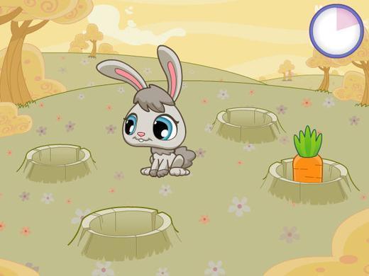 兔子吃胡萝卜照片; 卡通兔子吃胡萝卜;