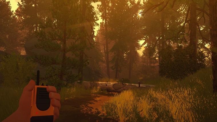《看火人》游戏画面