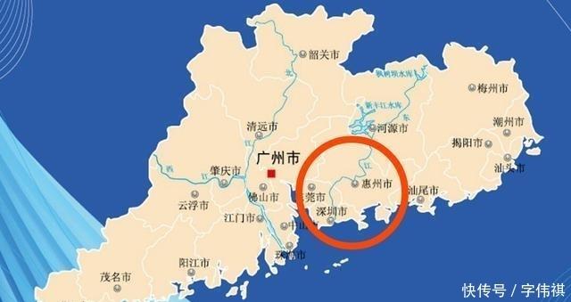 广东最发达的一座城市, 未来有望与惠州合并