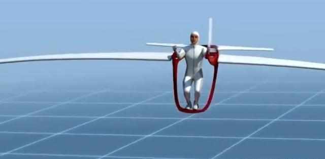 """德国老爷爷发明""""人力飞机"""",用了13年的时间,不费油不耗电"""