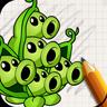 艺术图纸:植物和僵尸