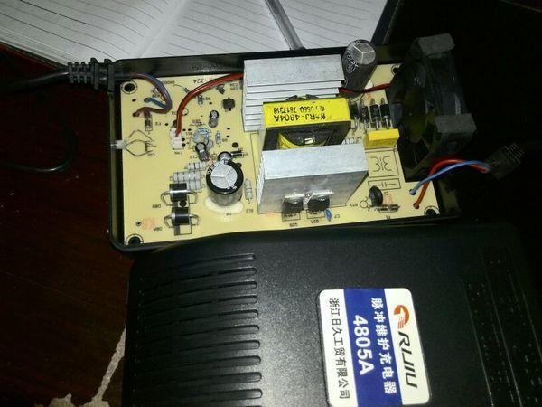 今天刚买日久牌电动车充电器,大吃一惊!是在天猫,还是