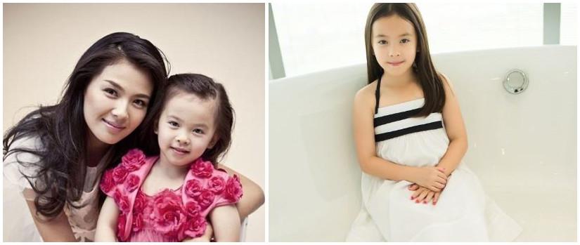 刘涛罕见晒出女儿与爸爸王珂的合照,没想到女儿的一个动作令众人感慨!