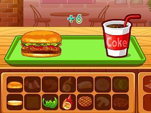可爱女孩汉堡店,可爱女孩汉堡店小游戏,360小