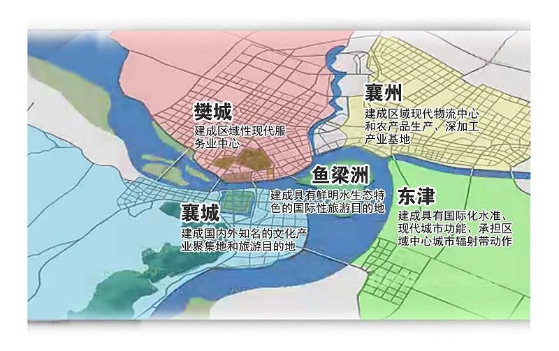 襄阳城区地图全图