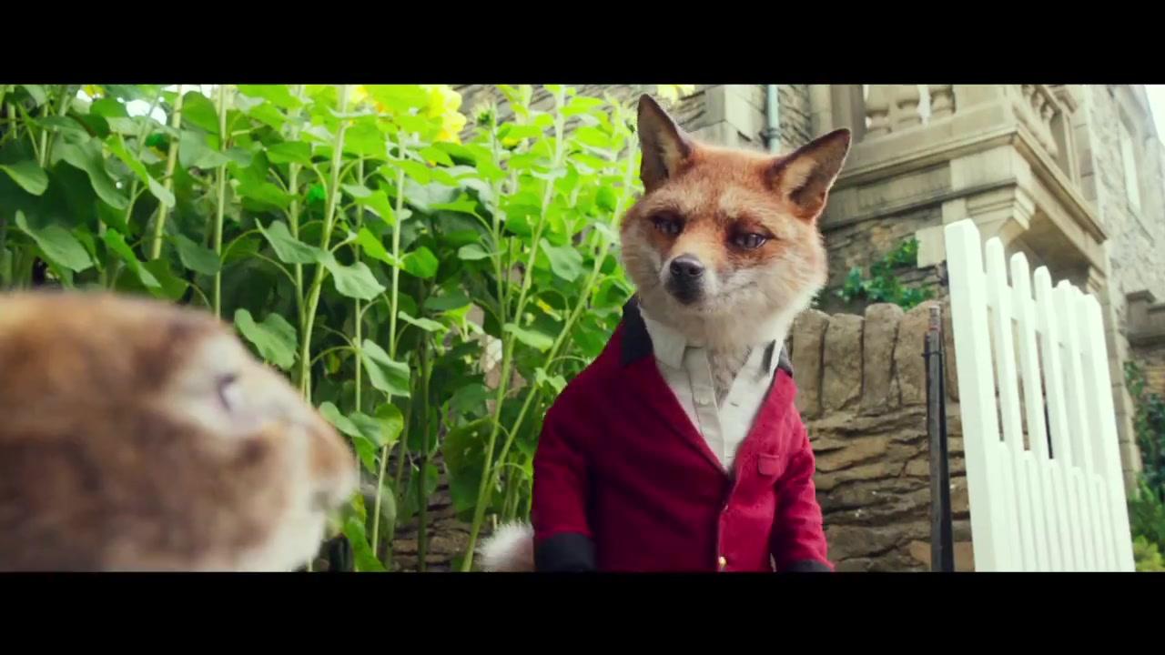索尼最新动画电影《比得兔 Peter Rabbit》先行预告片