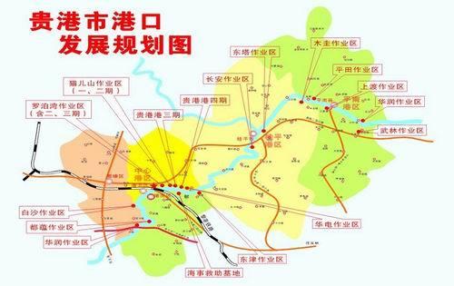 贵港至梧州高速公路贯穿全境
