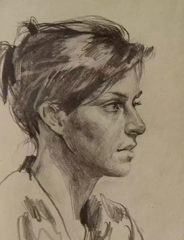 俄罗斯素描画家怎么处理素描关系 ART 第14张