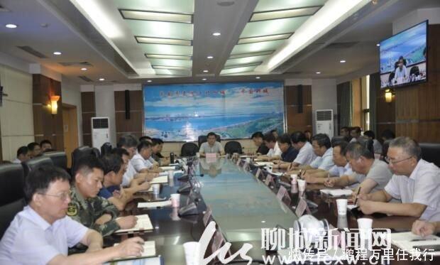 聊城市委书记孙爱军安排部署防汛防台风工作