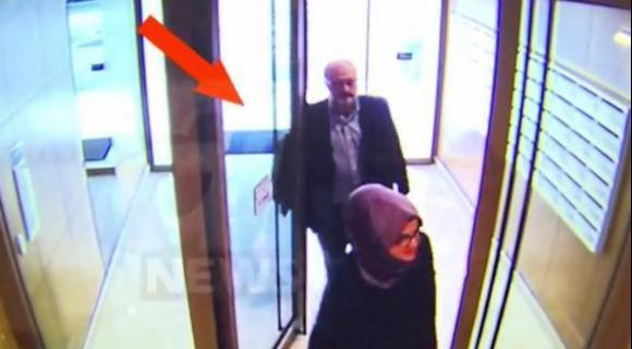 沙特记者失踪案持续发酵 生前最后画面曝光