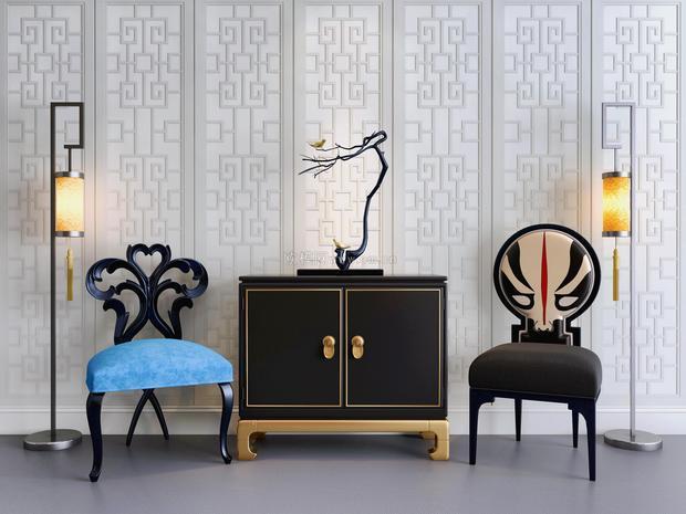 浮雕装饰画走廊尽头客厅背景墙壁画图片