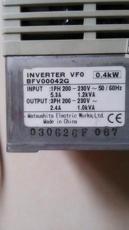 松下vf 8x变频器接线图