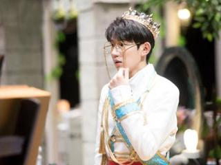 王源穿上这身衣服,戴上王冠,真的成王子了!
