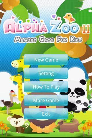 动物园记忆力游戏