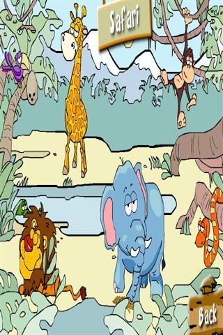 """包游戏对小孩子上最受欢迎的网络来探索""""动物世界""""!"""