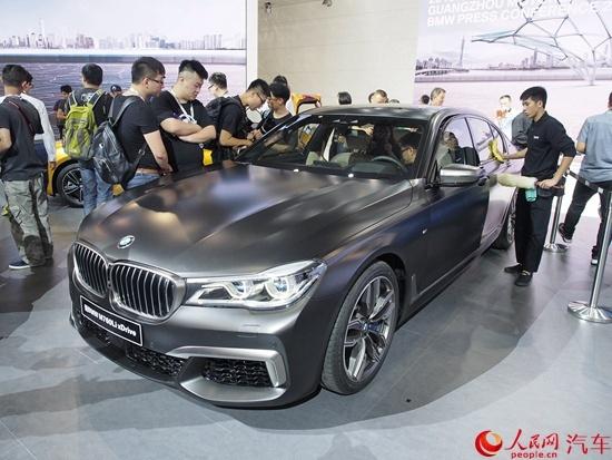 宝马m760li xdrive将1月16日上市 预售266.8万元