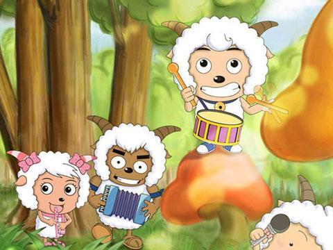 开心动物快乐卡通系列