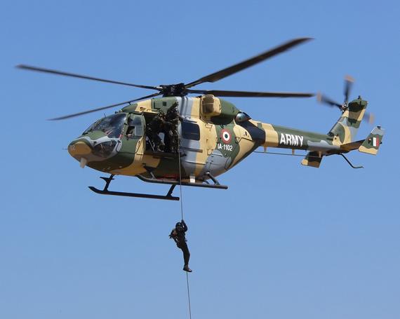 """印度alh""""北极星""""通用直升机"""