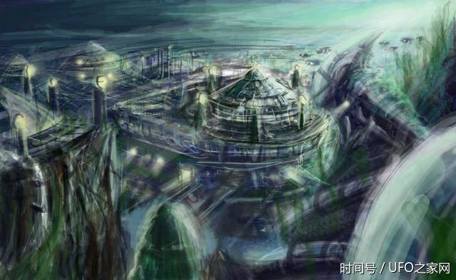 谷歌地球:发现加州湾下藏有巨大外星城市? - 一统江山 - 一统江山的博客
