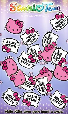 新的可爱的壁纸凯蒂猫粉丝们!