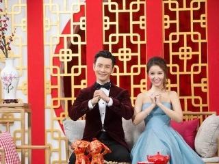 林心如身着蓝色刺绣订制礼服亮相北京卫视春晚,诠释了典雅的气质