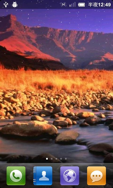 应用 主题壁纸 南非风景动态壁纸  上一张下一张