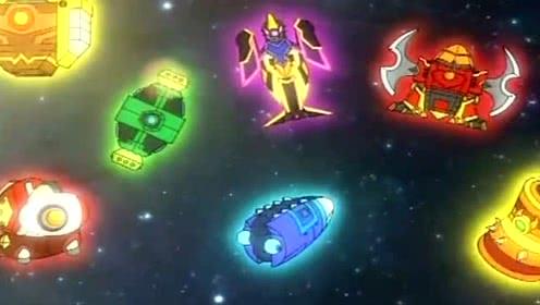 斗龙战士:十二星龙出现,四大神圣兵器的大门打开了