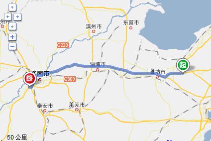 青岛平度公路规划图