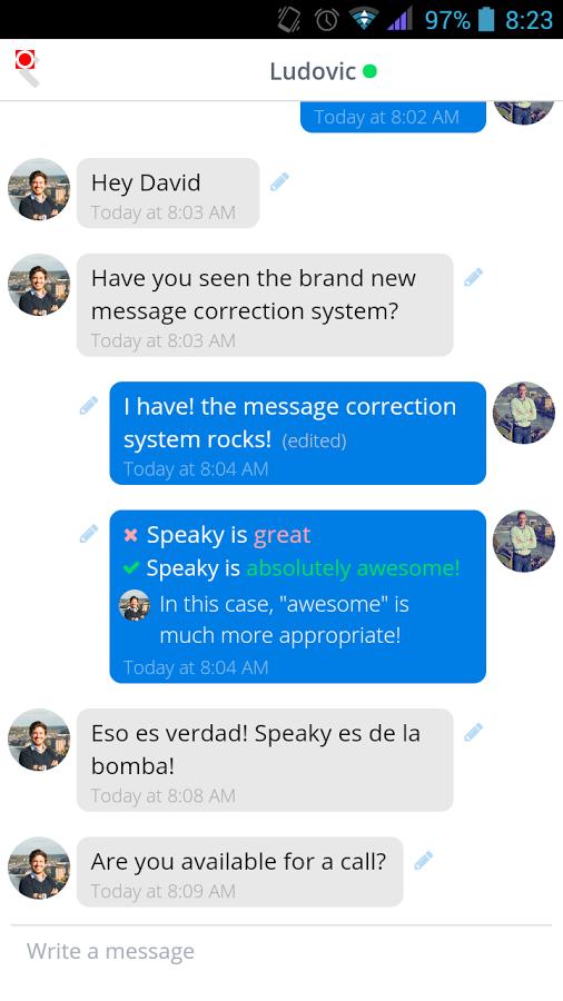 语言学习互助Speaky截图3