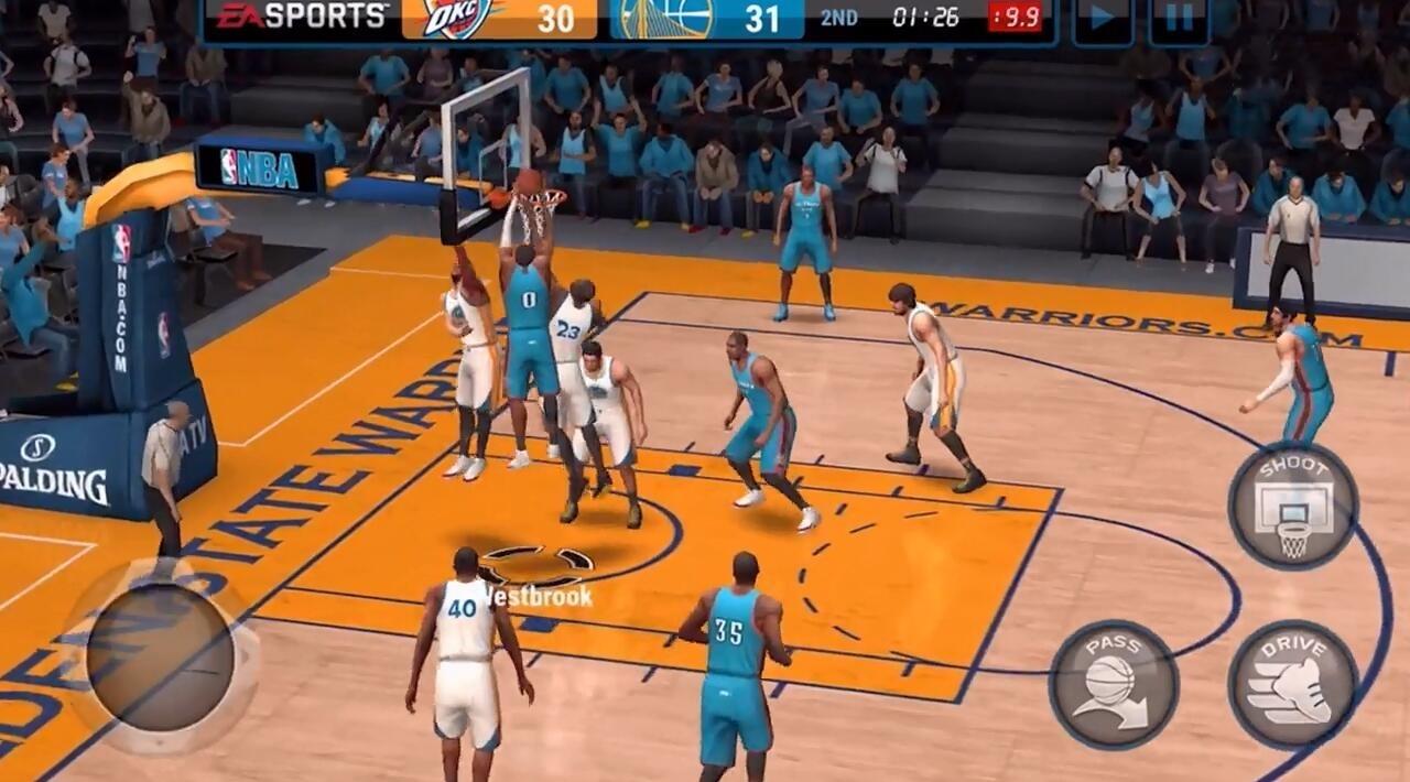 《NBA Live》移动版首款预告片