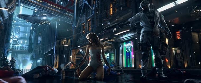 《赛博朋克2077》宣传图