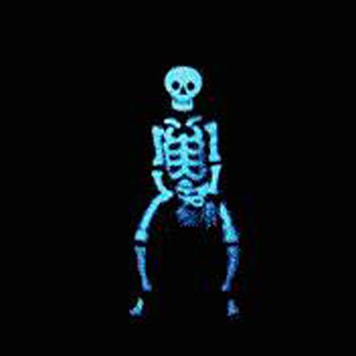 骷髅跳舞flash素材