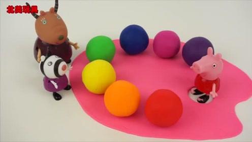 佩奇和Hello Kitty 一起学习颜色