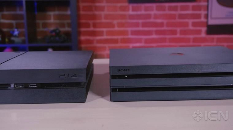 PS4 Pro和PS4对比