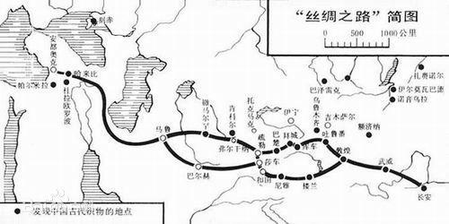 丝绸之路在中国境内吗