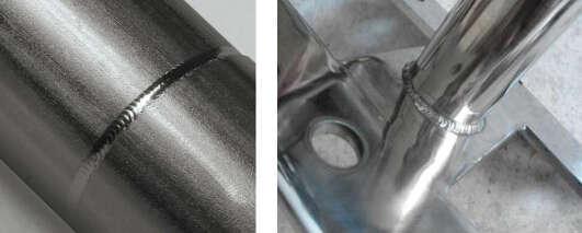 标准的焊缝,要求一面焊接