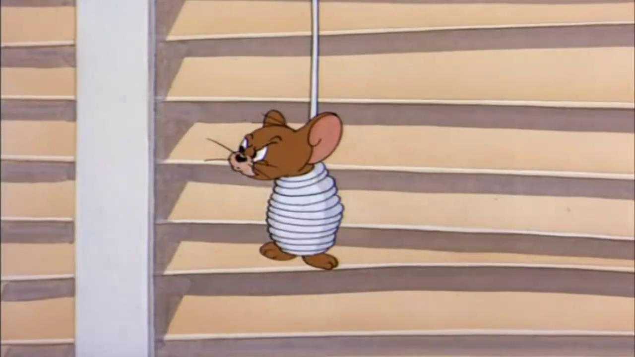 猫和老鼠:杰瑞被绑,还不忘告状,真是执着啊
