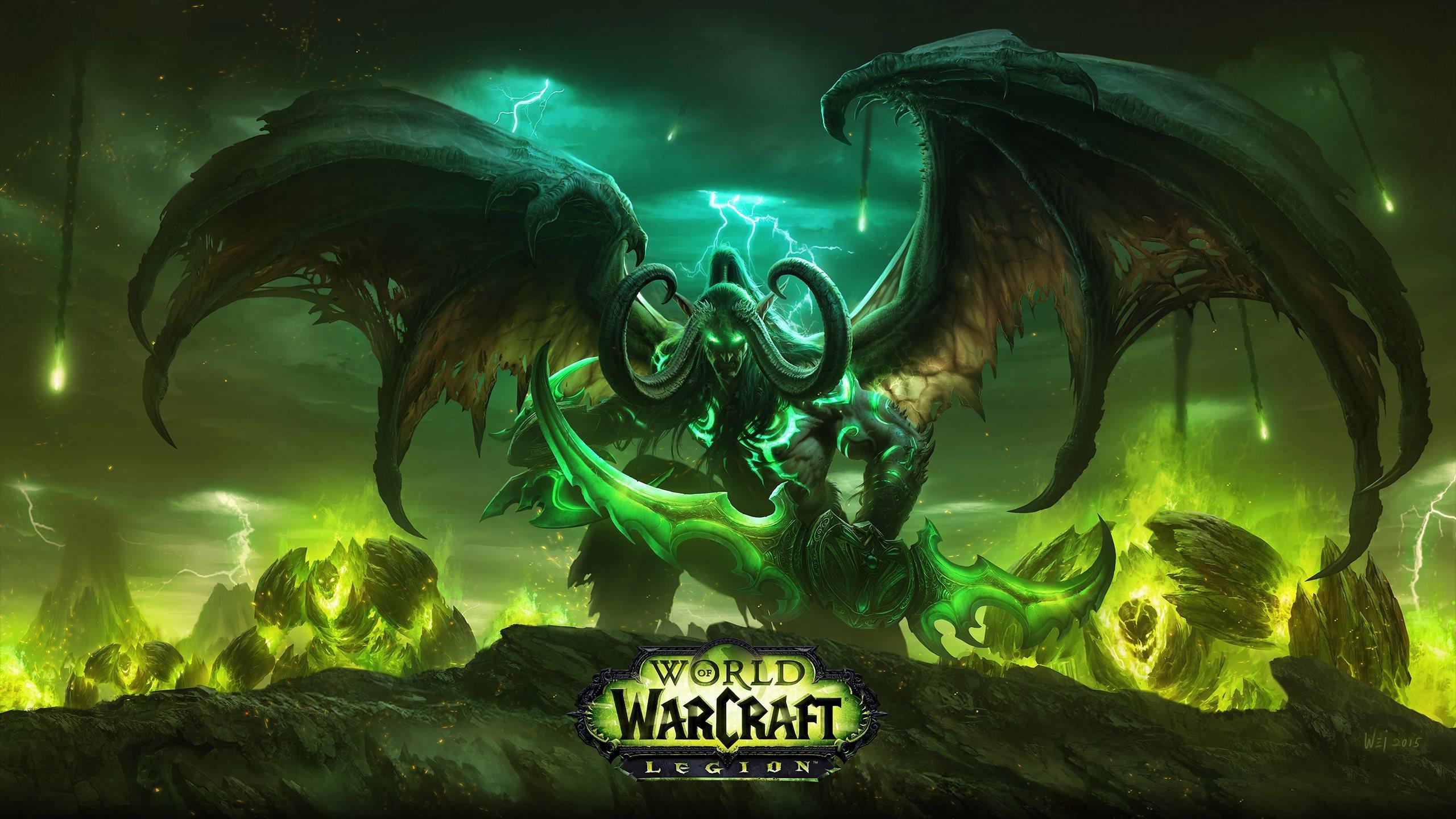 魔兽世界:军团再临公布上市日期