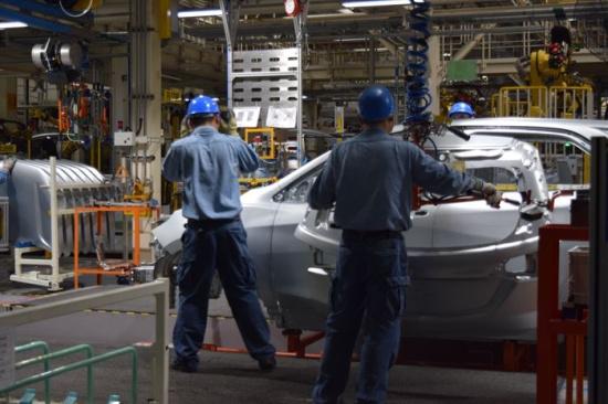 随着雪佛兰探界者的上市,我们有幸参观了上汽通用汽车武汉分公司的