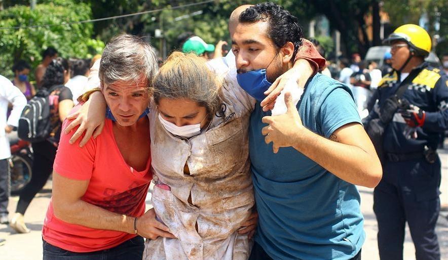 墨西哥中部7.1级地震 已致248人遇难