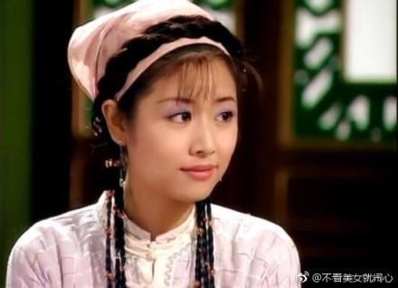 未满20周岁的林心如曾参演《新包青天之梅花盗》饰演飞凤郡主一角,就图片