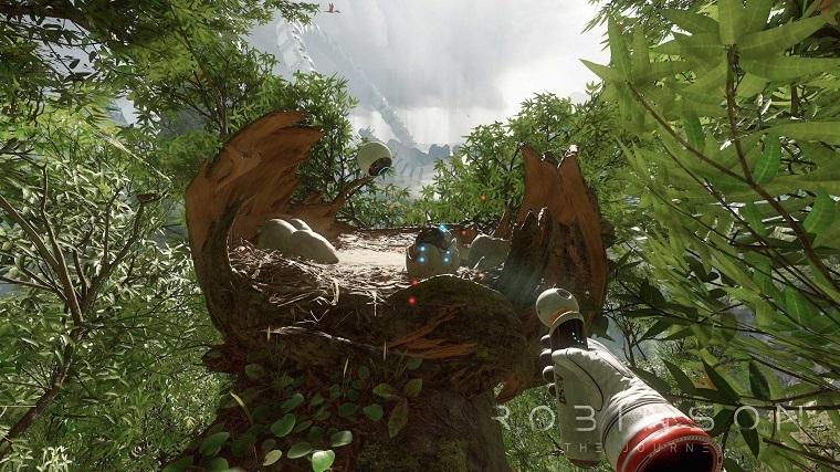《罗宾逊:旅途》游戏画面