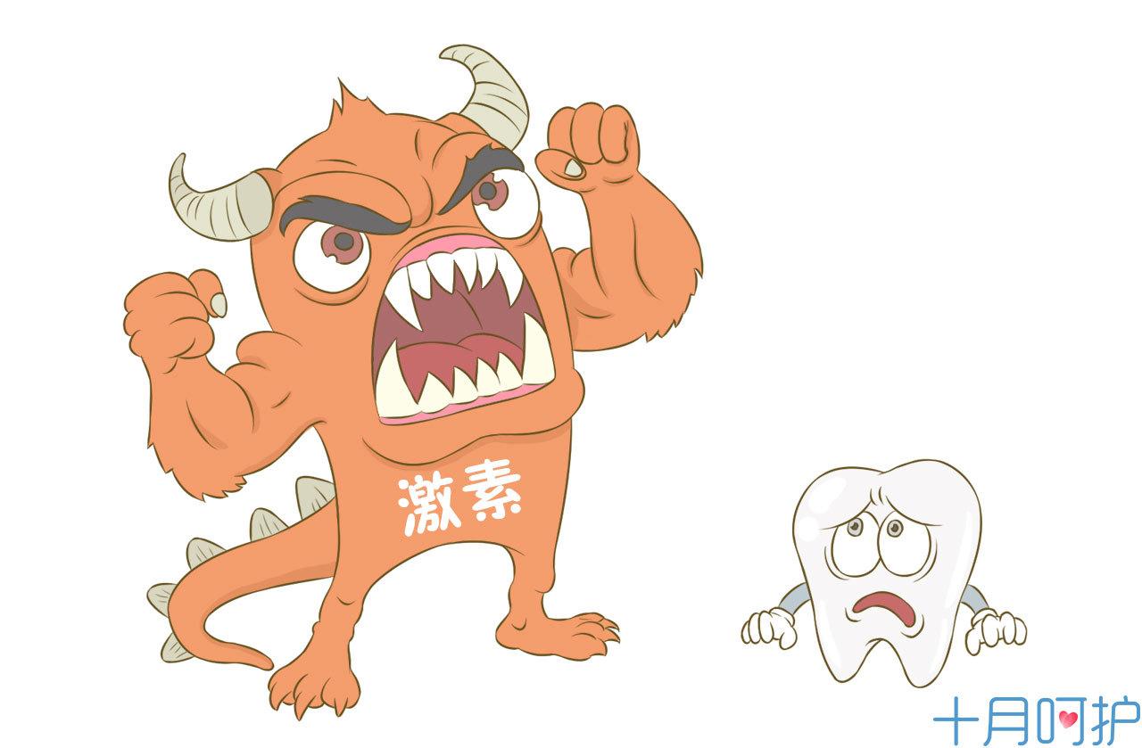 牙疼可爱图片大全可爱