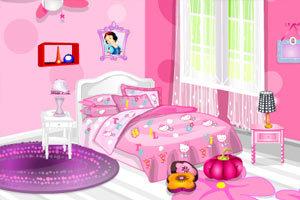 小女生房间图片_小女生想拥有的梦幻房间