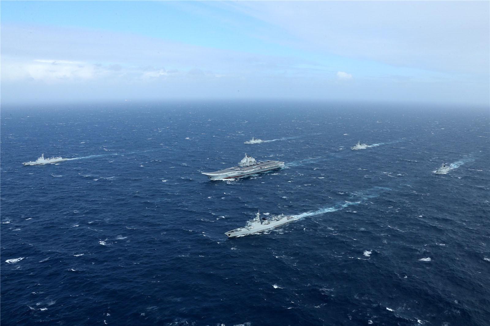 出云号要来南海挑衅 中国航母编队能否镇压?