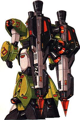 RGM-122机械矛装备型杰维林